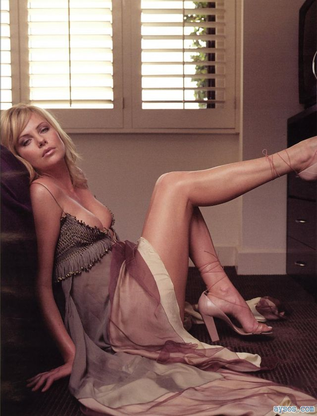 Charlize Theron goes Leggy