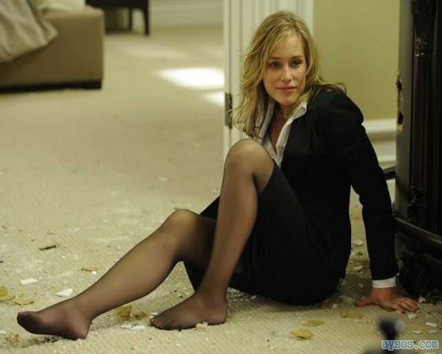 Piper Parabo looking sexy on the floor showing off her legs