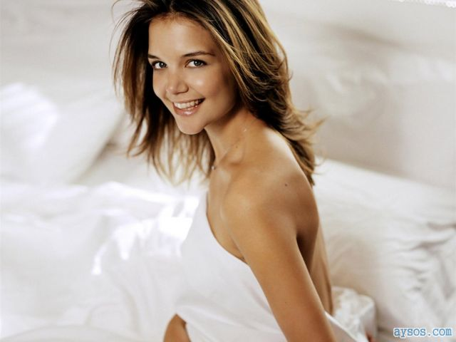 Katie Holmes and her cute smile