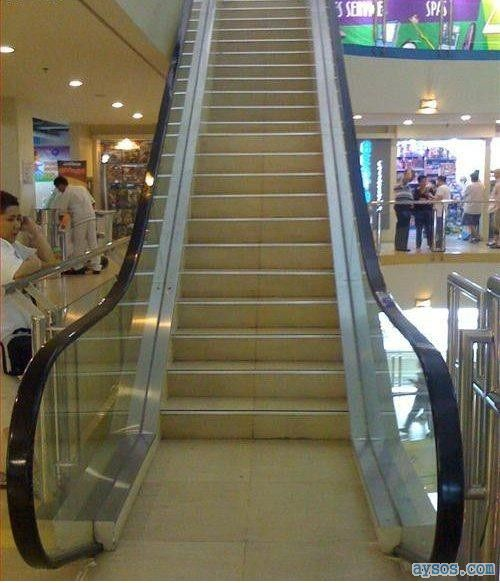 Manual Escalator stairs
