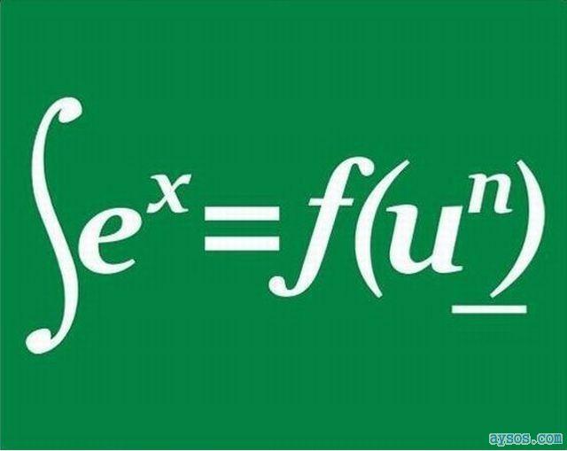 sEX equal to f(un