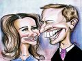 Kate Middleton cartoon drawing