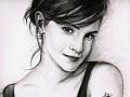 Emma Watson Sketch Drawing