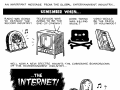 Funny cartoon about the evil internet