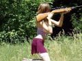 Babe Shoots Gun Wrong