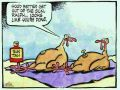 Happy Thanksgiving Funny Turkey Picture