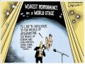 Funny Obama cartoon drawing