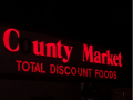 County Market food FAIL sign