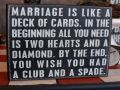 Marriage Like a Deck of Cards