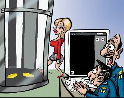 Funny airport security picture